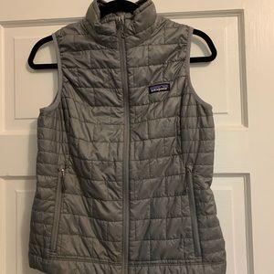 Patagonia Gray Nano Puff Vest
